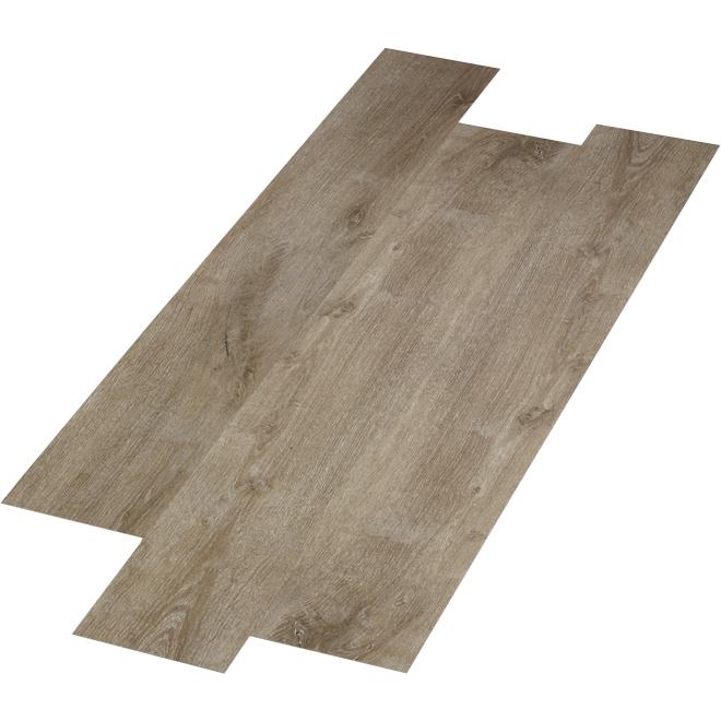 Plancher en SPC Mono Serra, « Arizona », 28,38 pi², brun