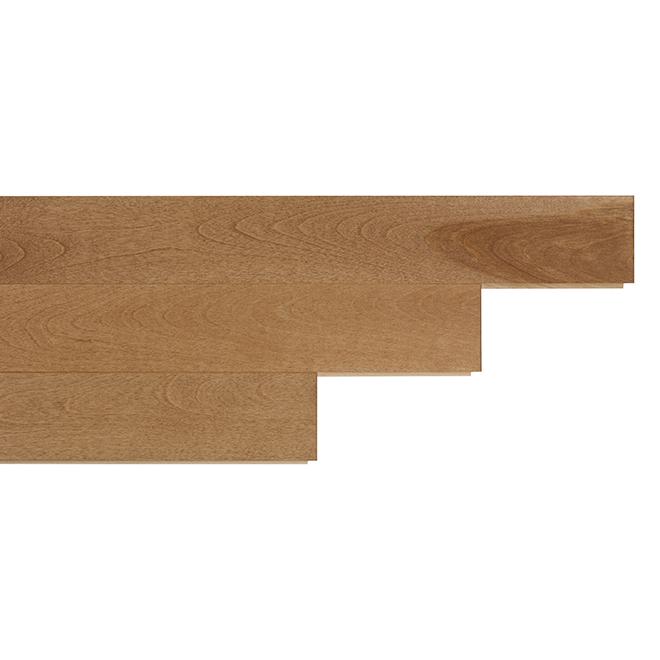 """Plancher de bois franc en merisier, 3-1/4"""" x 3/4"""", java"""