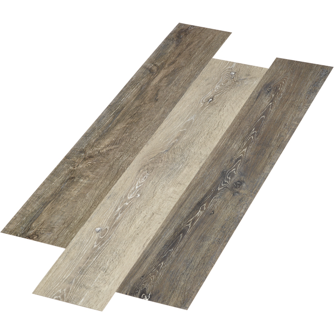 Mono Serra Vinyl Floor - Driftwood Style - 28.38 sq. ft. - Grey SPC-410
