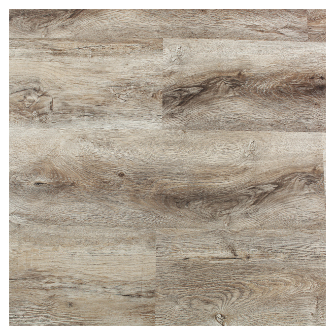 Plancher de vinyle Mono Serra, chêne sable, 35,69 pi², beige