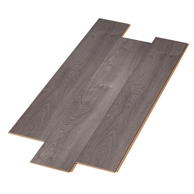 Plancher stratifié Effect de Mono Serra, HDF, 14,59 pi², gris, emballage de 6