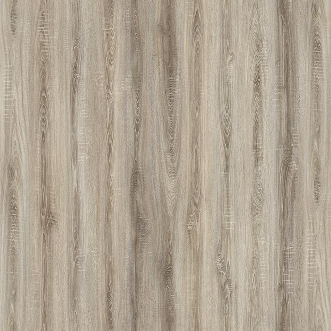 Plancher stratifié Mono Serra en HDF, 8 mm, 24,93 pi², gris