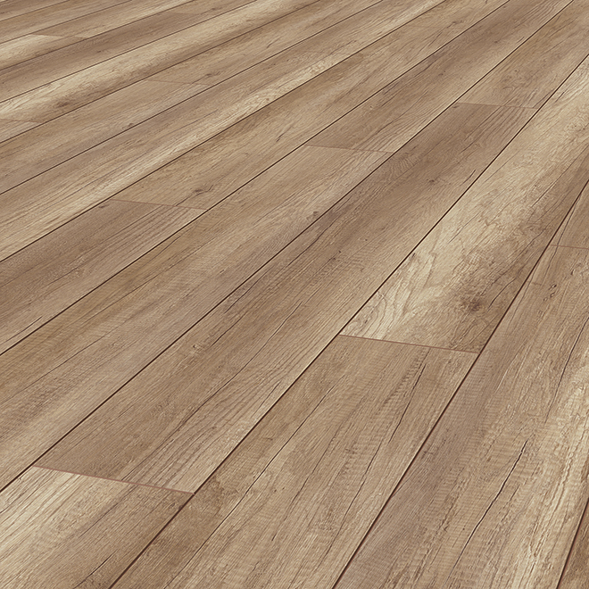 Laminate Flooring 12mm Bedford Brown 14 13 Sq Ft 80105 Rona