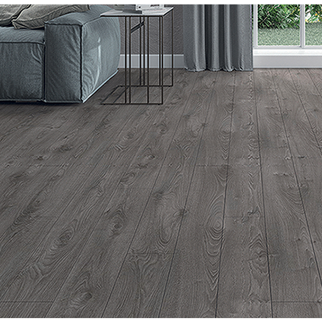 Aquastop 24 Mono Serra Laminate, Dark Grey Laminate Flooring