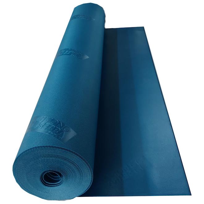 Sous-couche pour plancher de vinyle Mono Serra Zito, 200 pi², bleu
