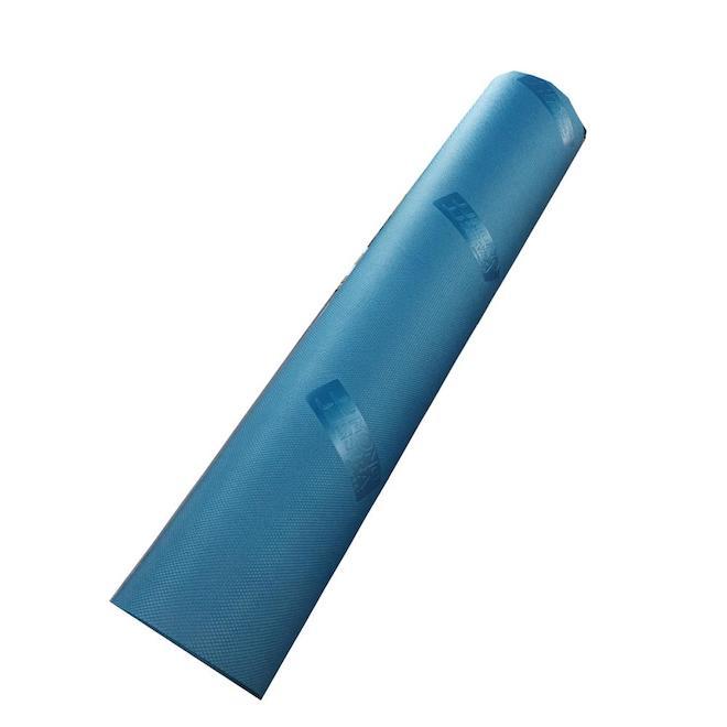 Sous-couche Zito pour plancher de vinyle Mono Serra, 200 pi², mousse de haute densité, bleu