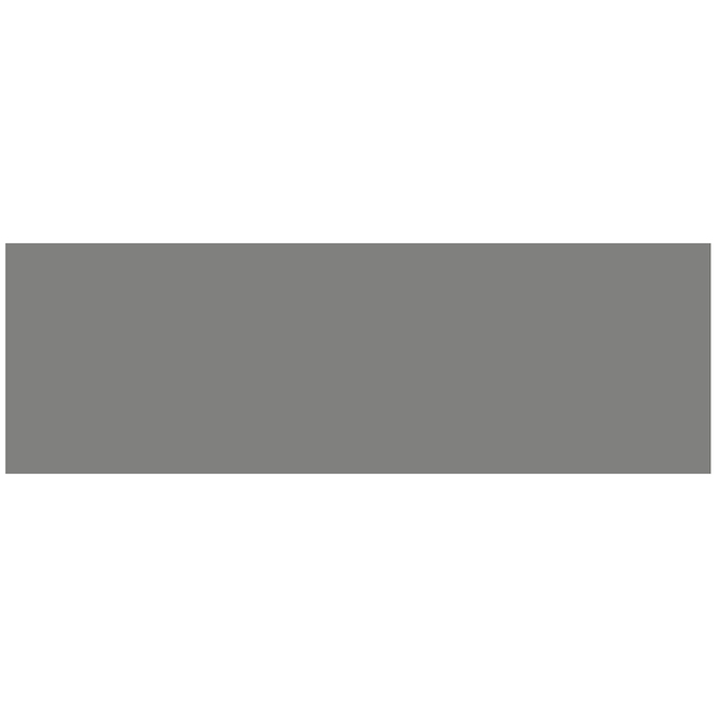 Tuiles de céramique Mono Serra New-York de 4 po x 12 po, 9,69 pi², gris lustré, 30/bte