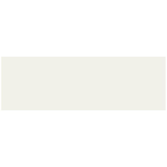 Mono Serra New-York 30/Box 4-in x 12-in Glossy Ivory Ceramic Tiles - 9.69 sq ft