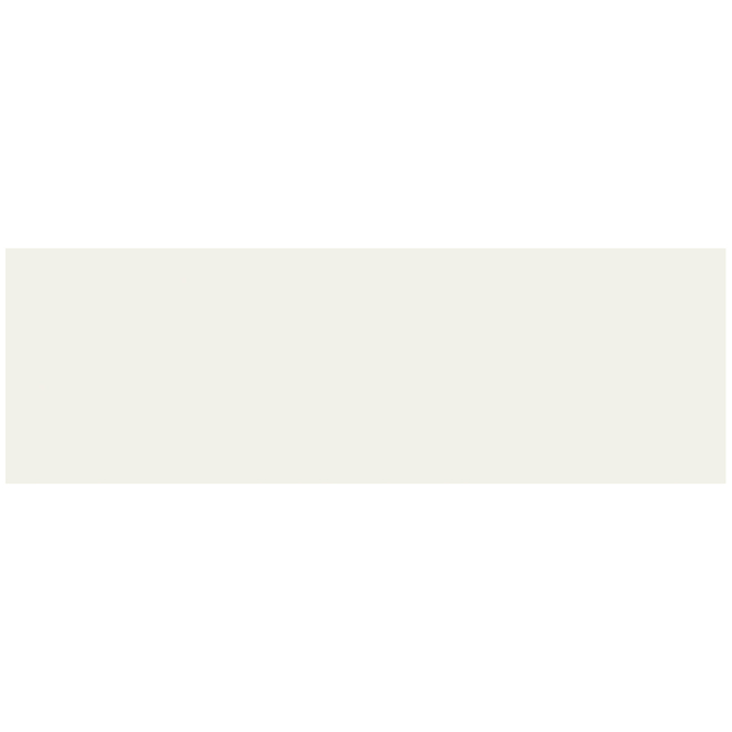 Tuiles de céramique Mono Serra New-York de 4 po x 12 po, 9,69 pi², ivoire mat, 30/bte
