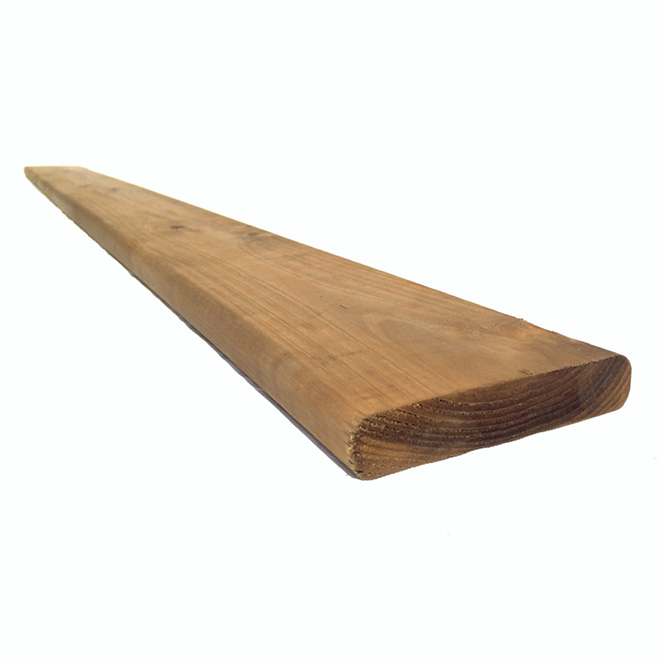 SELECT Treated Wood Brown - 5/4 in x 6 in x 10 ft 120-102 | RONA