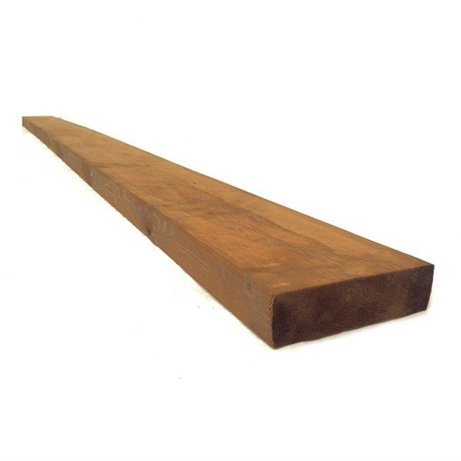 Treated Wood Brown - 4 in x 6 in x 16 ft BT4616B | RONA