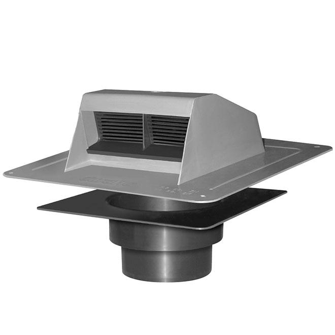 canplas a rateur de toit en plastique gris 6010g rona. Black Bedroom Furniture Sets. Home Design Ideas