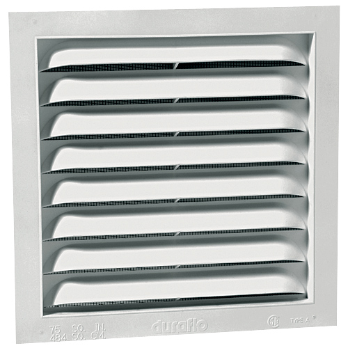 Lovely Rectangular Standard Gable Vent - 12