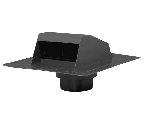 Aérateur de toit en plastique noir