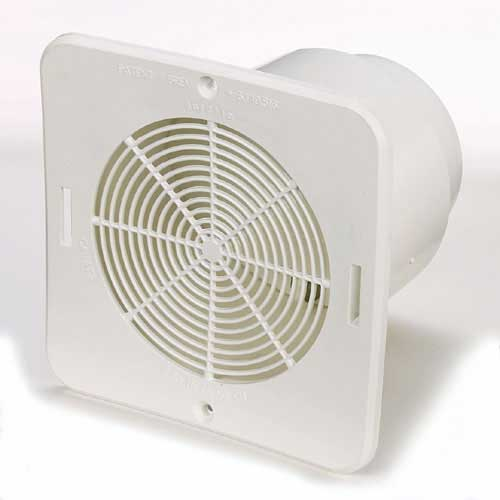 Duraflo Bathroom Soffit Exhaust Vent 6 3 4 Quot White