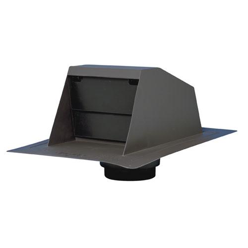 Aérateur de sortie de ventilation avec collet adaptateur