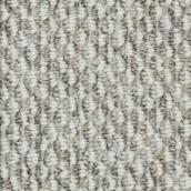 Tapis à boucles Beaulieu Kinsley en fibre synthétique de 12 pi, modèle Bonne Ambiance