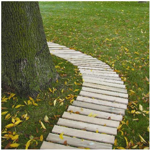 Genial Garden Walkway