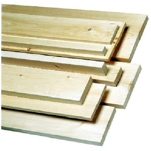 """Plancher de pin gris embouveté 5/4"""" x 6"""", naturel"""