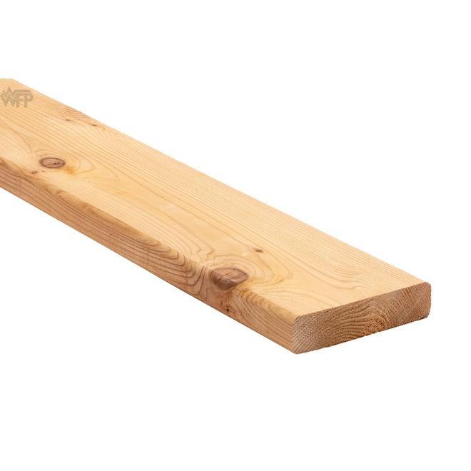 Cedar D4S - 5/4 in x 6 in x 10 ft