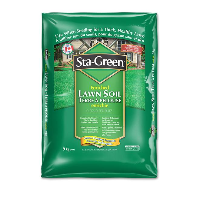 Sta Green Lawn Soil 30 Litres 8512131 Rona