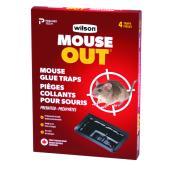 Pièges à souris à bandes collantes, Predator, ensemble de 4