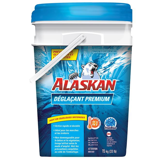 Déglaçant Premium Alaskan, 15 kg