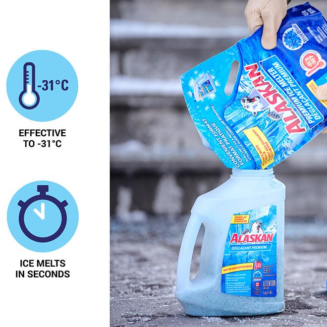 Alaskan Premium Ice Melter Refill Bag - 4.5 kg
