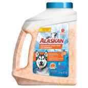 Déglaçant doux pour les animaux Alaskan en contenant, 3,5 kg