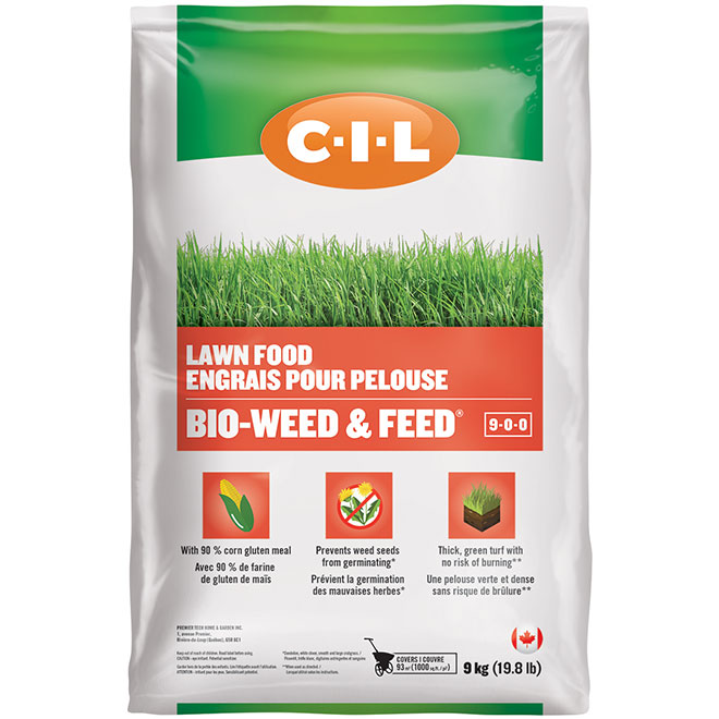 Engrais pour pelouse, 9-0-0, 1000 pi², 19,8 lb