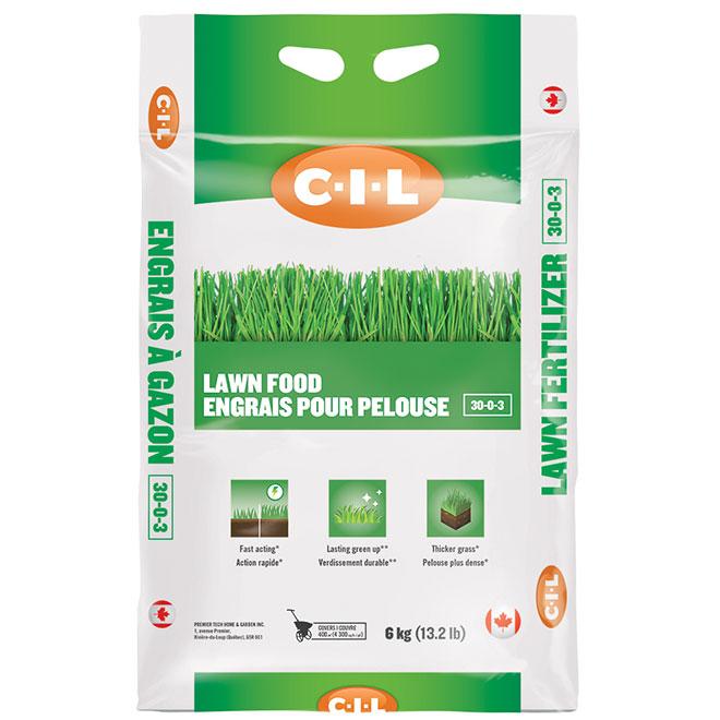 Engrais pour pelouse, 30-0-03, 4300 pi², 13,2 lb