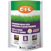 Premium Grass Seed - Sun and Shade - 3.3 lb