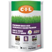 Premium Grass Seed - Sun and Shade - 8.8 lb