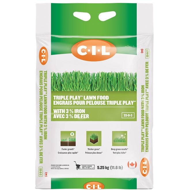 Engrais pour pelouse, 33-0-3, 4300 pi², 11,6 lb
