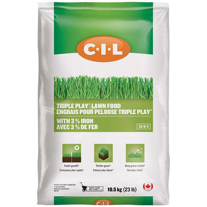 Engrais pour pelouse, 33-0-3, 8600 pi², 23 lb