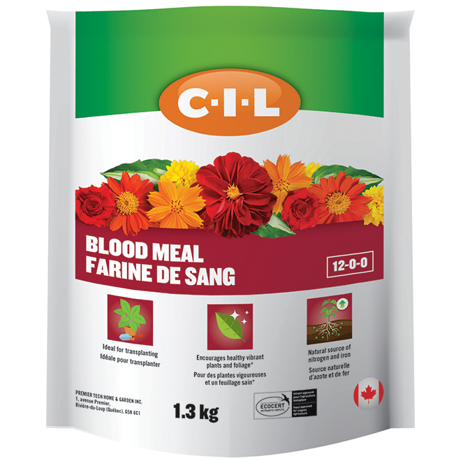 Farine de sang, 12-00-00, 1,3 kg