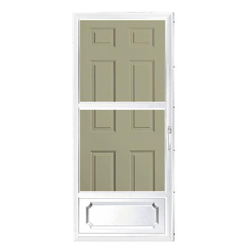 Storm Door - 32  x 80  - White  sc 1 st  RONA & Storm Door - 32