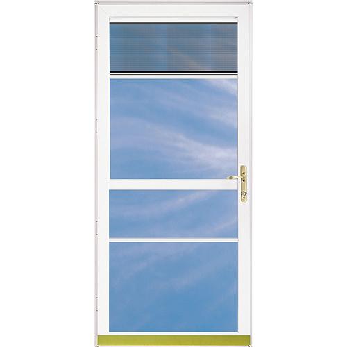 Contre-porte en aluminium « Clearview »