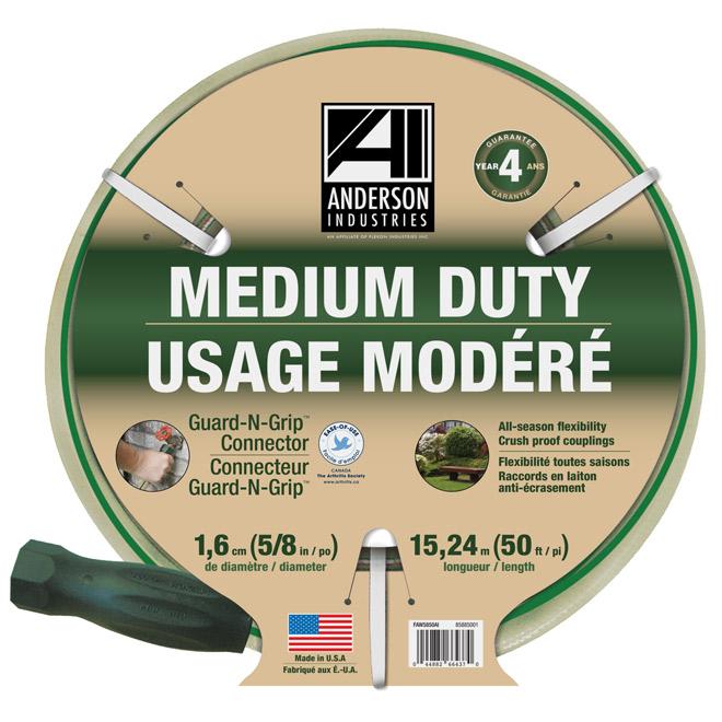 Garden Hose - Medium Duty - 50' - Beige