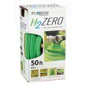 Boyau d'arrosage flexible pour jardin, vinyle/nylon, 50'