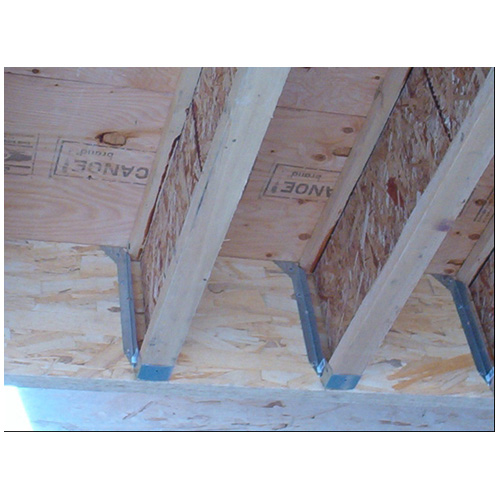 "Galvanized Steel Joist Hanger 2 3/8"" x 14"""