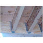 "Galvanized Steel Joist Hanger 3 9/16"" x 9 1/2"""