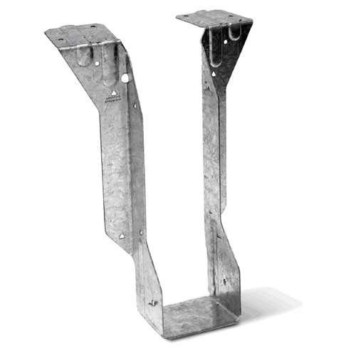 """Étrier en acier galvanisé de 3 1/2"""" x 16"""""""