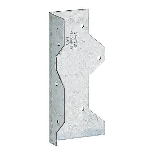"""Cornière en «L» en acier galvanisé de 5"""""""