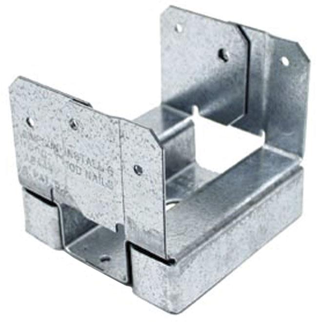Base de poteau réglable « Série AB », 4 x 4 po, paquet de 20