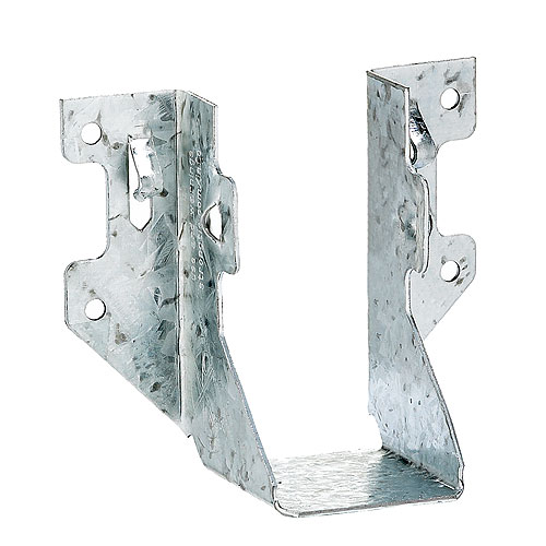 Z-MAX Simpson Strong-Tie Joist Hanger - Galvanized Steel - 2-in x 4-in - Box of 100