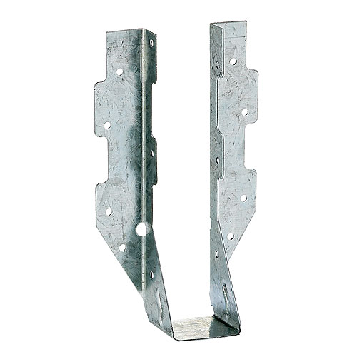 Simpson Strong-Tie Galvanized Steel Joist Hanger - 2-in x 8-in - 100/Box