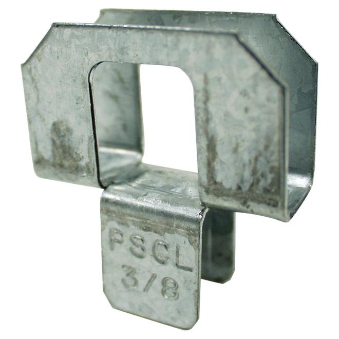 """Attache pour toiture PSCL/PSCA - 3/8"""" - 50/boîte"""