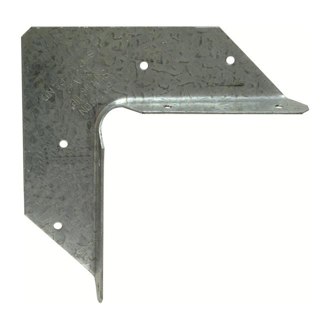 "Cornière rigide en acier galvanisé de calibre 18 de 1"" x 2"""