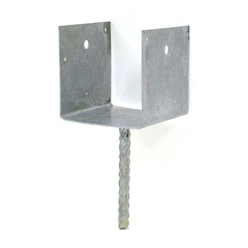 """RCPS"" Rebar Carport Saddle - 6"" x 6"""